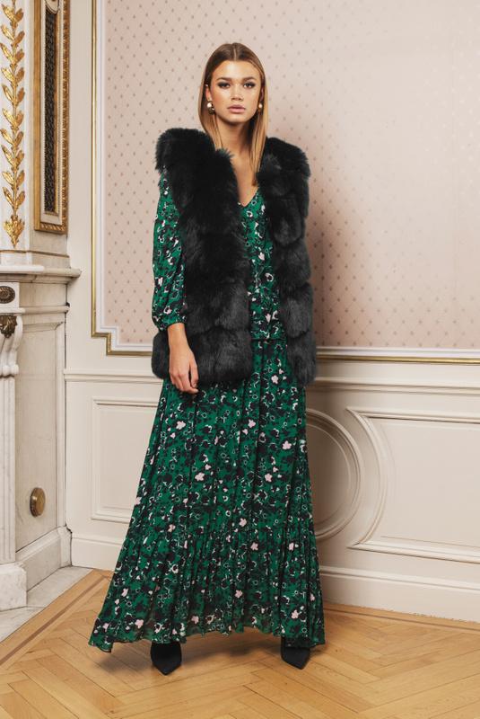 Product Thumbnail of Claudia faux fur vest