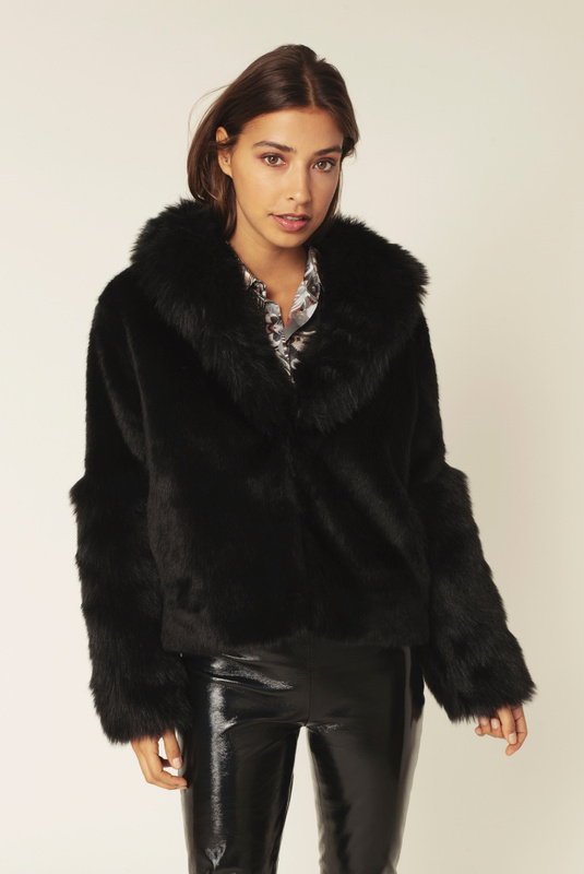 Product Thumbnail of Alma faux fur jacket
