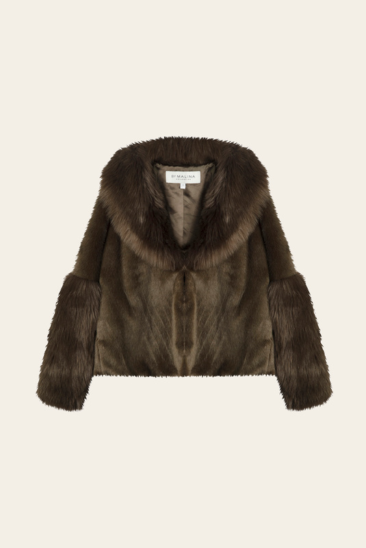 Product Thumbnail of Alma faux fur jacket