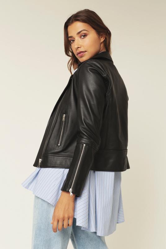 Product Thumbnail of Carmela leather jacket