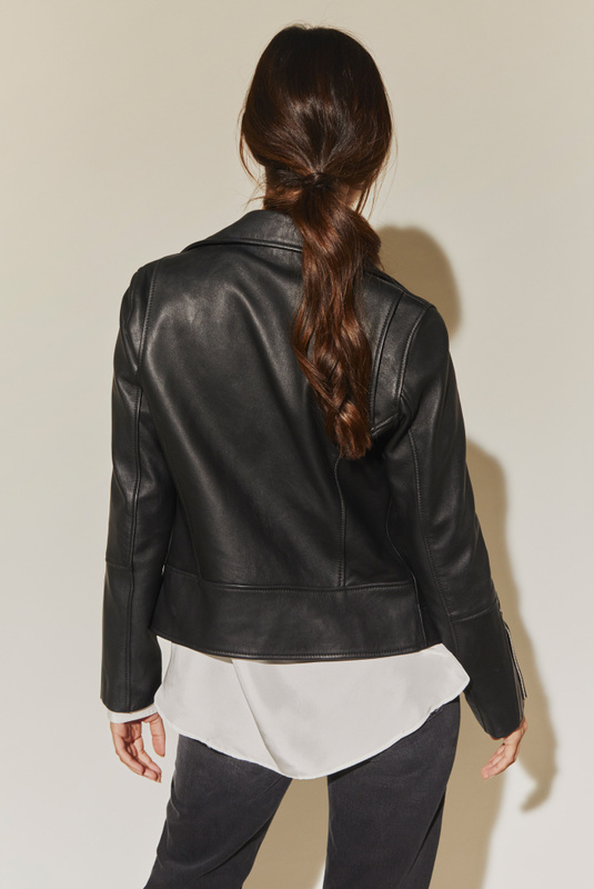 Product Thumbnail of Carmela leather jacket