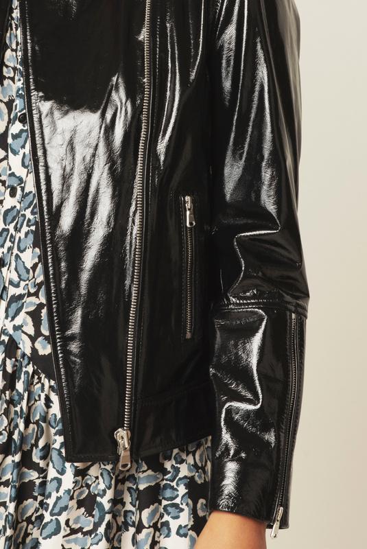 Product Thumbnail of Carmela patent leather jacket