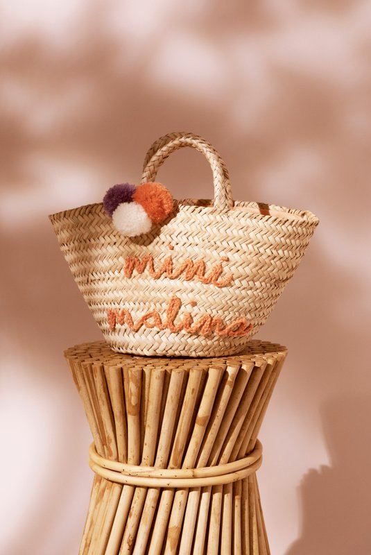Product Thumbnail of Mini straw tote