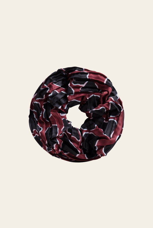 Product Thumbnail of Simone pleated scrunchie