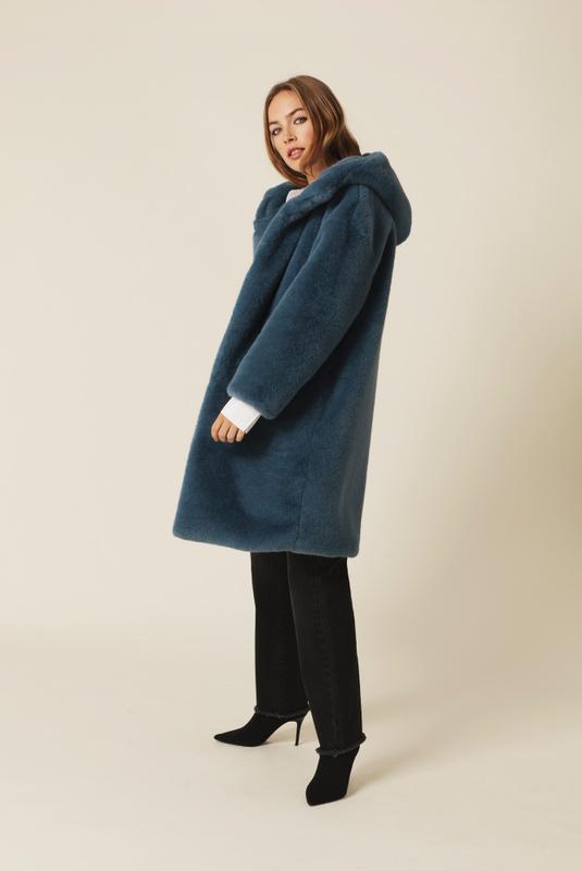 Product Thumbnail of Carli faux fur coat