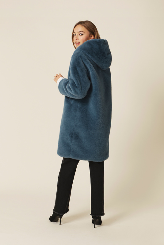 Product Thumbnail of Carli faux fur coat