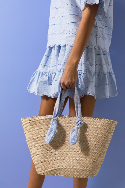 Product Thumbnail of Mykonos raffia tote