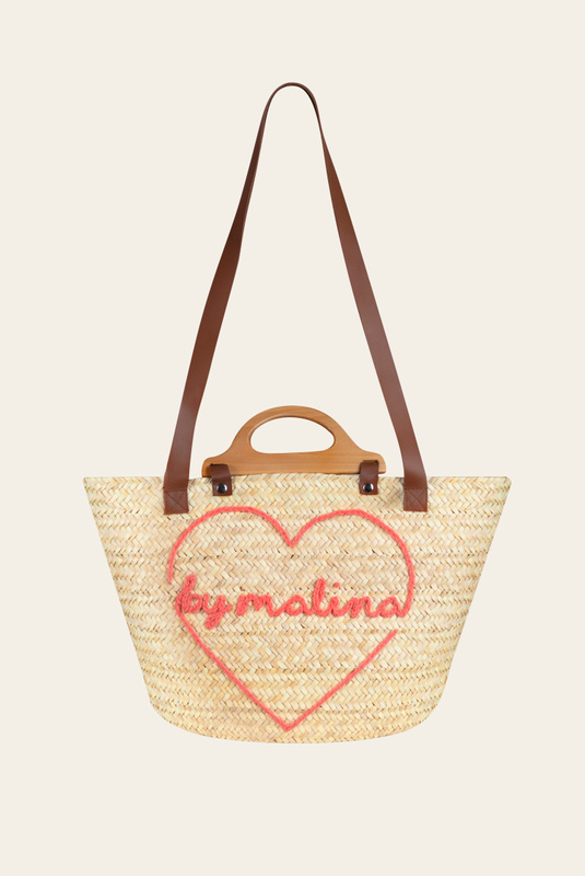 Product Thumbnail of Darling beach raffia tote