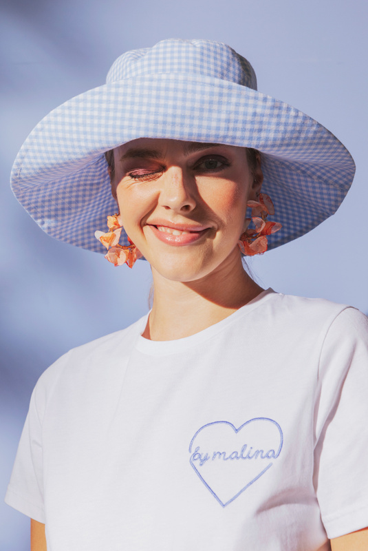 Product Thumbnail of Violet sun hat