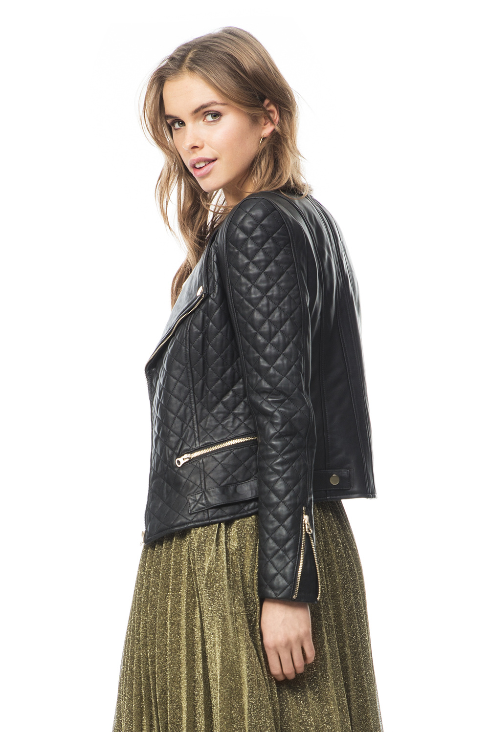 Jade quilted jacket