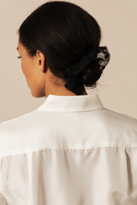 Product Thumbnail of Simone organza scrunchie
