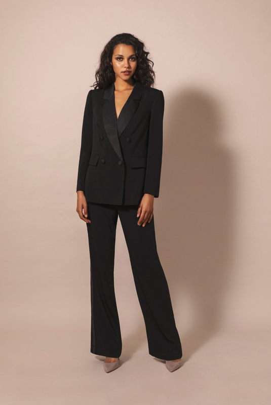 Product Thumbnail of Flora tuxedo blazer