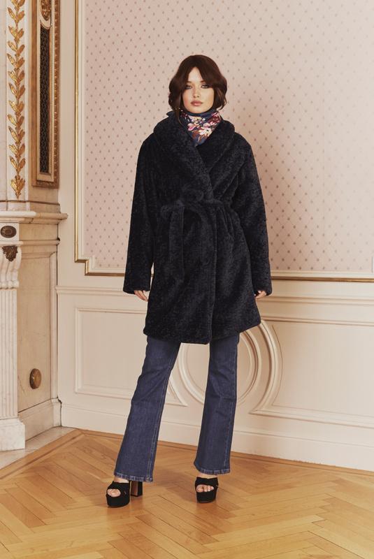 Product Thumbnail of Adrielle faux fur coat