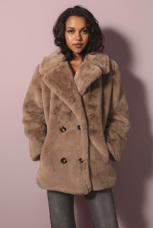 Product Thumbnail of Halley faux fur jacket