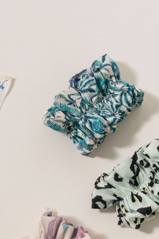 Product Thumbnail of Recycled Scrunchie - Made of left over materials