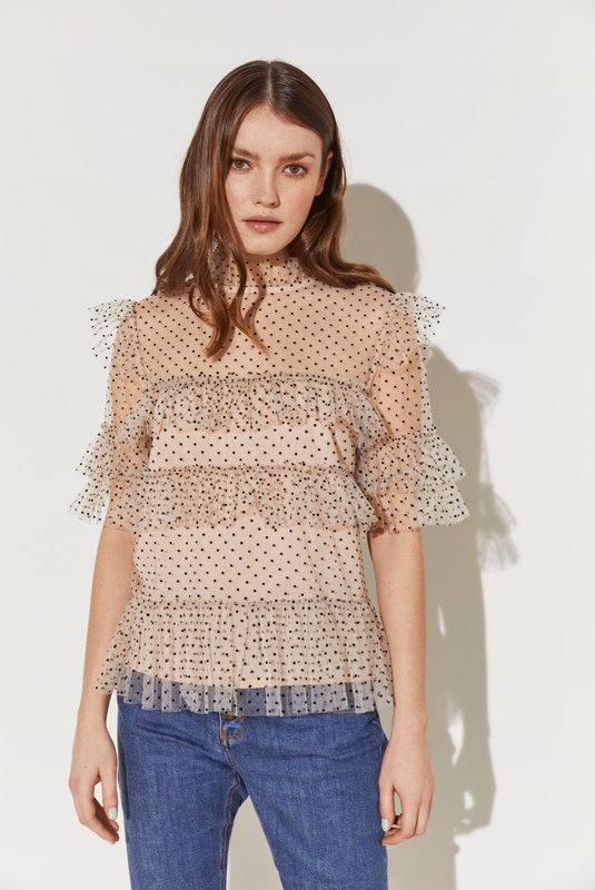 Product Thumbnail of Rachel dotted blouse