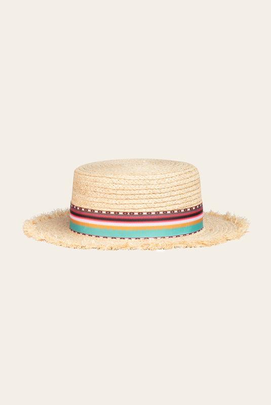 Product Thumbnail of Desert straw boater hat