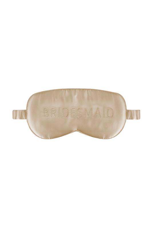 Product Thumbnail of Bridesmaid silk eye mask