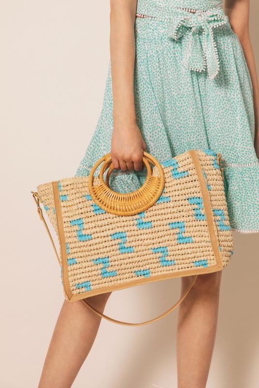 Product Thumbnail of Formentera raffia bag