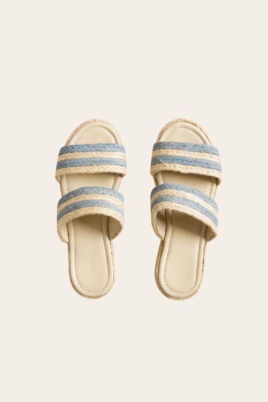 Product Thumbnail of Plateau raffia sandals