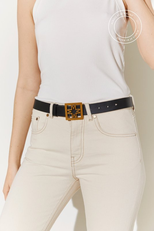 Product Thumbnail of Iconic thin leather belt