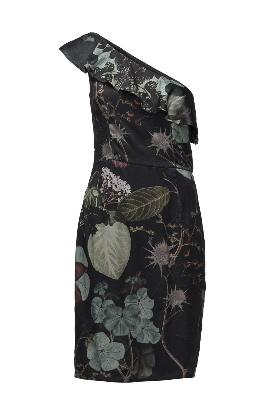 Tulip silk dress