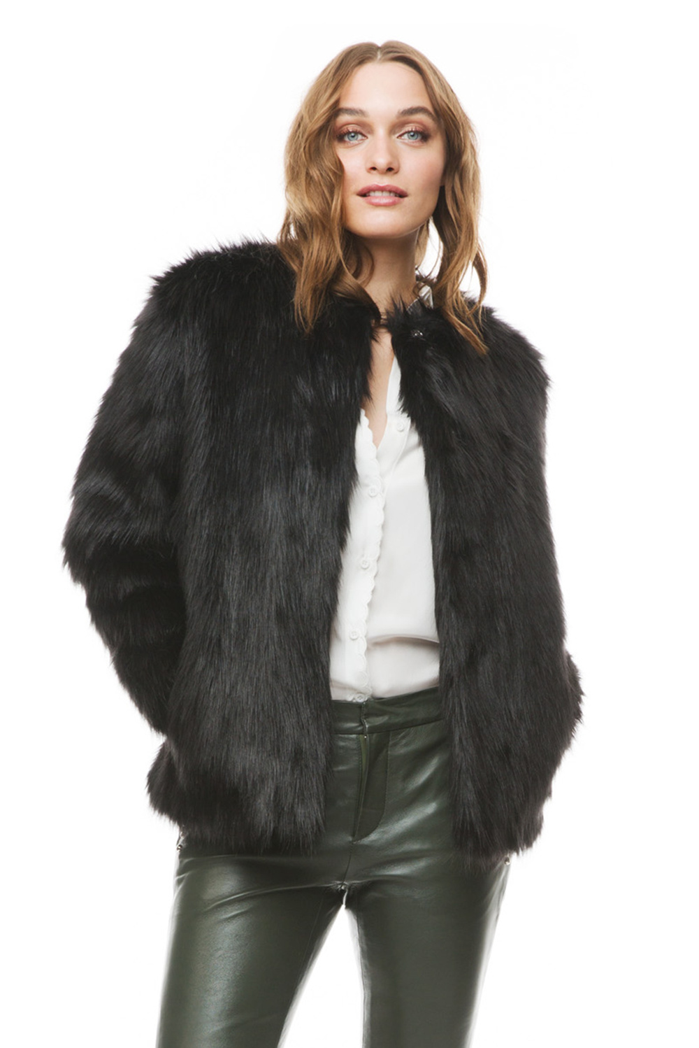 Product thumbnail of Addison faux fur coat