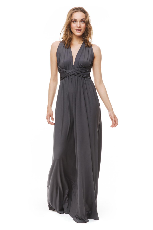 Lola wrap maxi dress