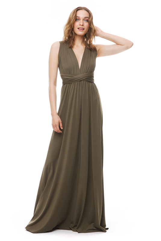 Product Thumbnail of Lola wrap maxi dress