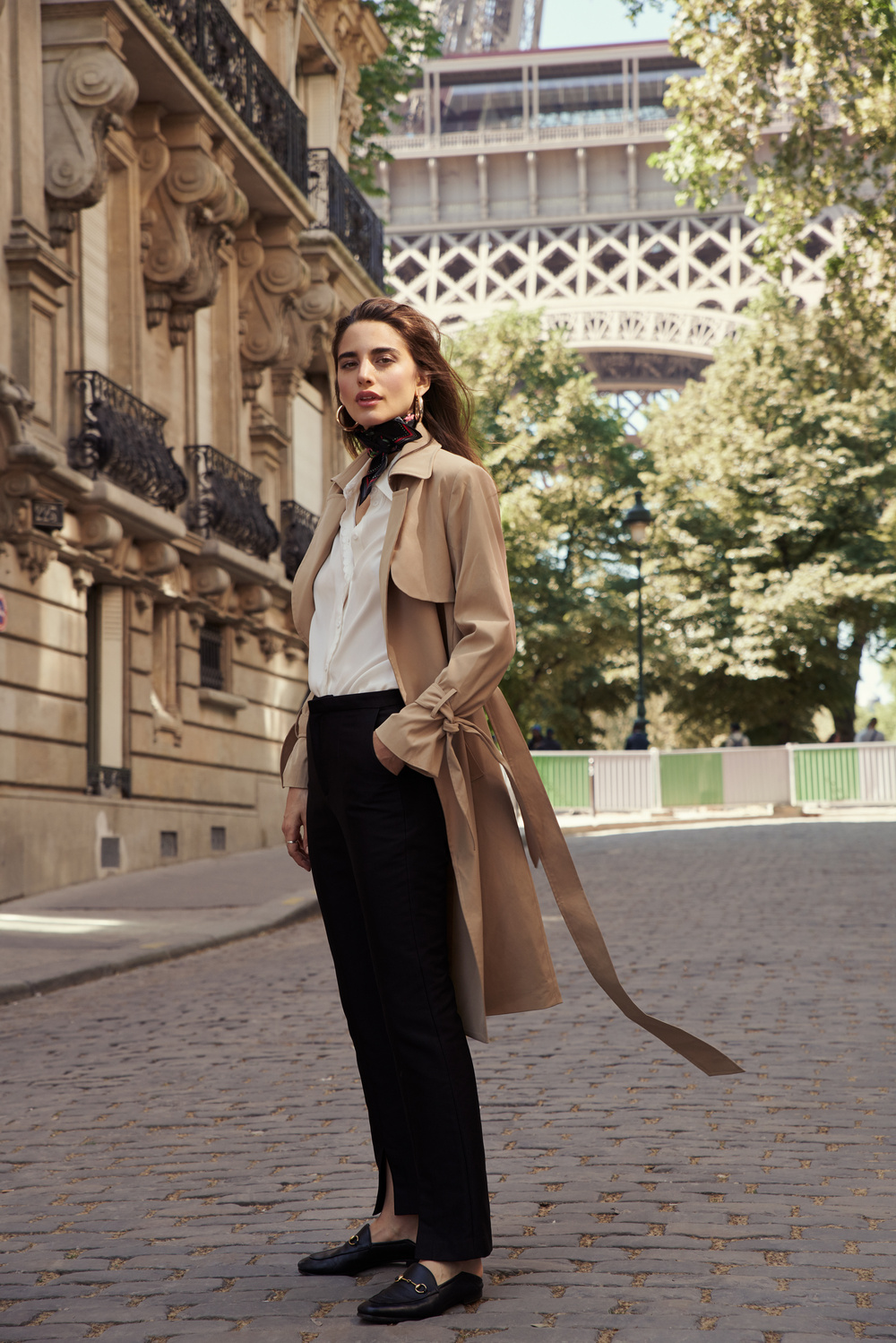 Jane trench coat