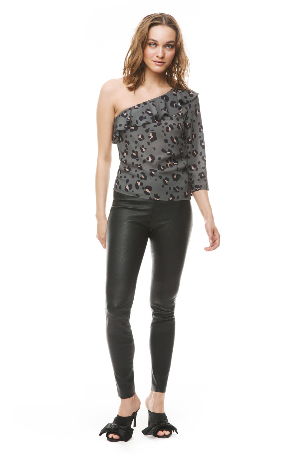 Product thumbnail of Millie leather leggings