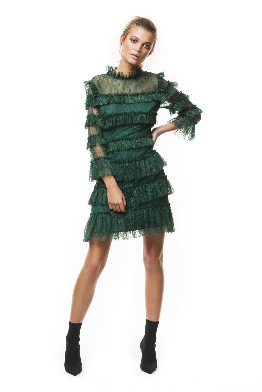 Carmine mini dress