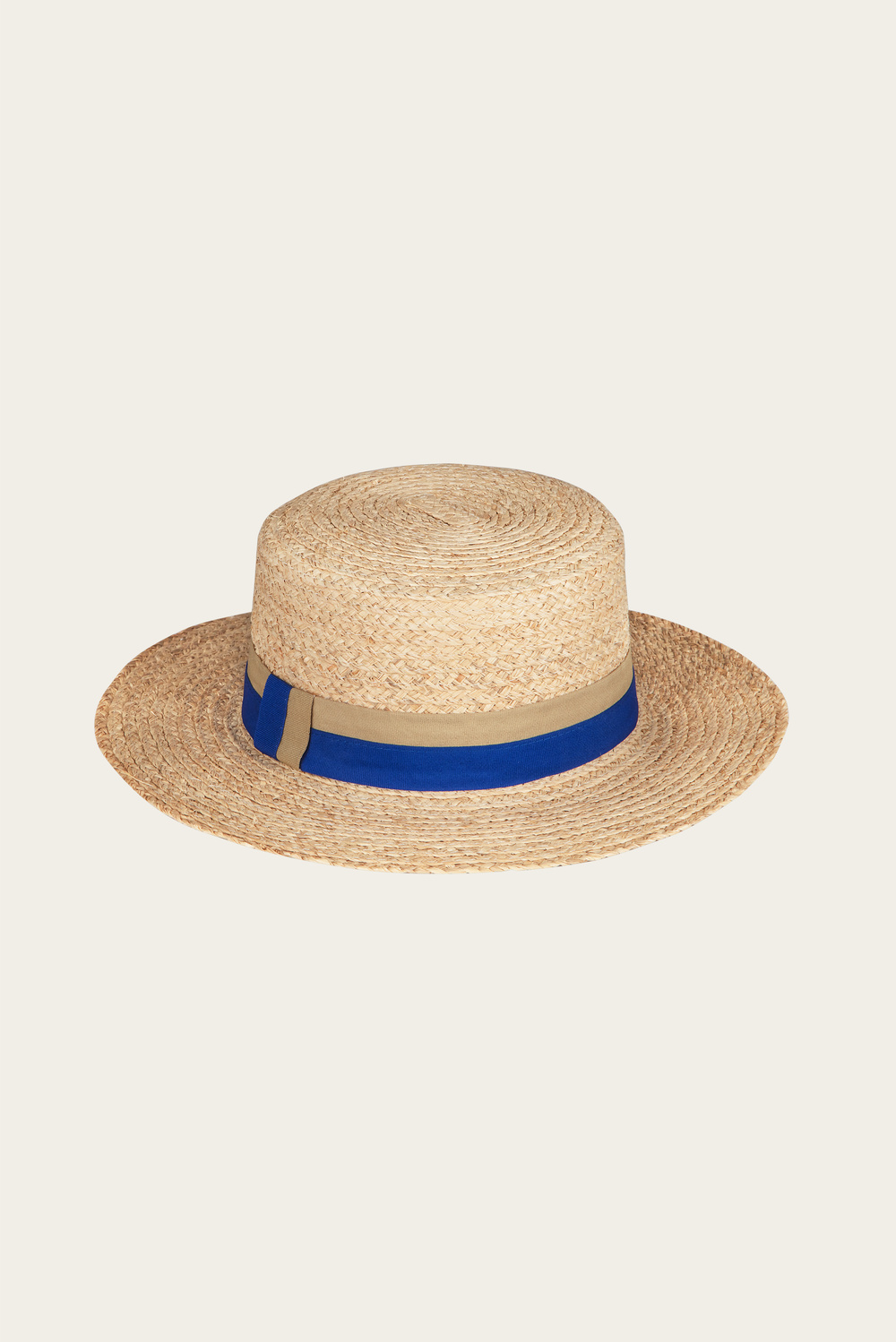 North Beach straw boater