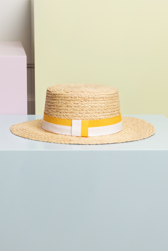 Product Thumbnail of North Beach straw boater