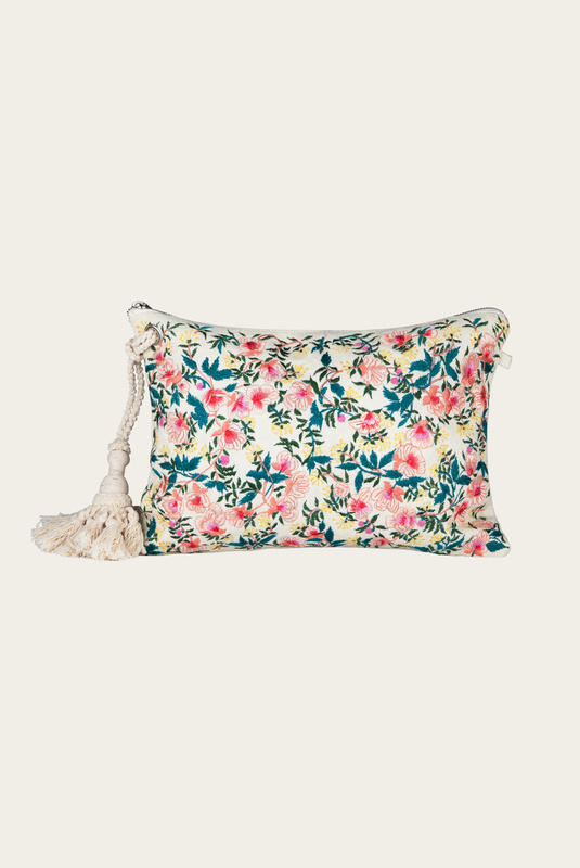 Product Thumbnail of Key West embroidery pouch