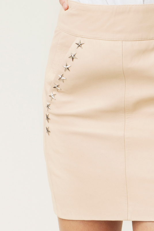 Product Thumbnail of Demi leather skirt