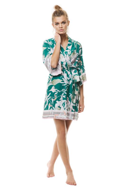 3b188a0aac Product Thumbnail of Green Jungle Robe ...