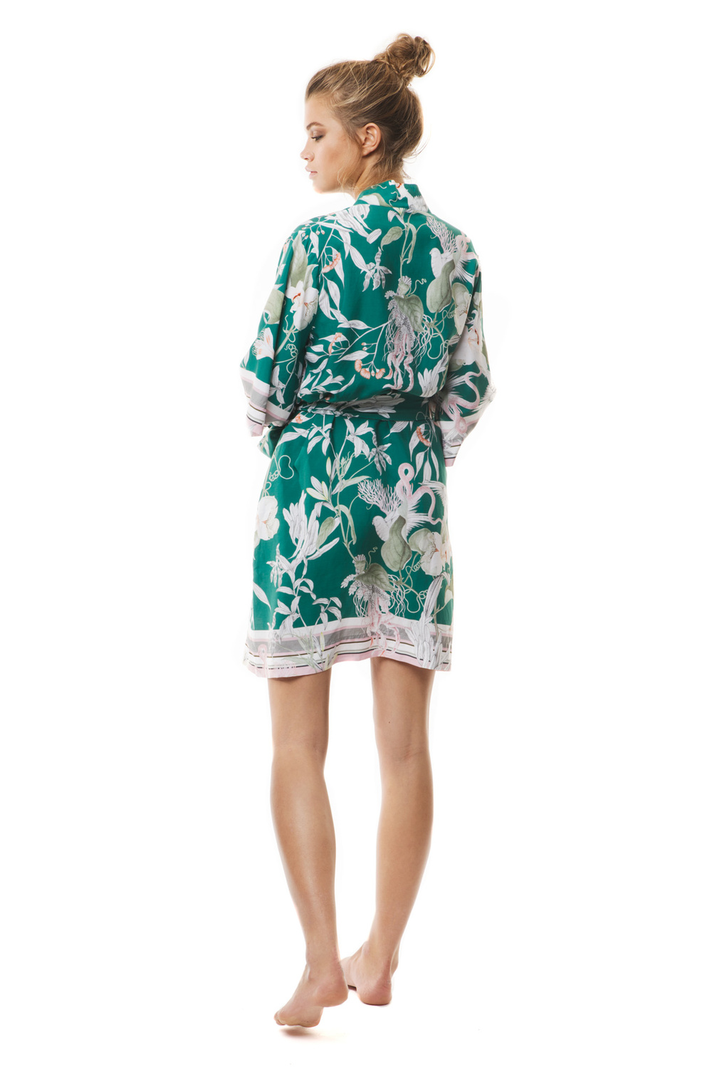 Green Jungle Robe